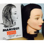 Cabezote Maniqui Para Peinados Cabello Natural Envio Gratis