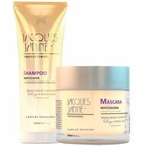 Kit Shampoo + Máscara Matizador Profissional Jacques Janine