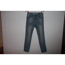 Pantalo De Jeans Bombacha Fes