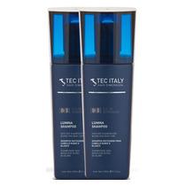 Kit Com 2 Shampoo Lumina - Matizador / 300ml - Tec Italy