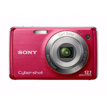 Camara Sony Cyber-shot Dsc-w230 12 Mp With 4x Zoom Dark Red