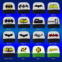 Gorras Heroes, Batman, Superman, Ironman, Capitan America...
