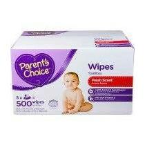 Toallitas Húmedas Parents Choice 5 X 500