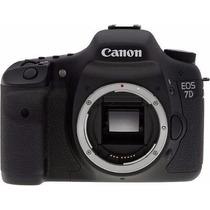 Promoção Câmera Digital Canon Eos 7d 18 Mp So O Corpo