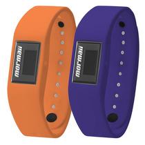 Relógio Mormaii Fit + Wristband Troca Pulseira Mo3398a/8l