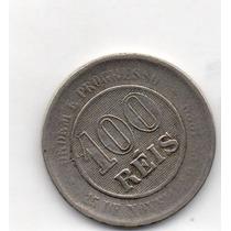 Moeda 100 Reis 1893 Ref 037