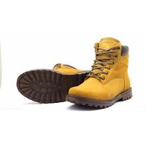 Bota Tênis Coturno Couro Masculina Feminina Atron Shoes