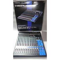 Mesa De Som Yamaha Mg16 Xu 16 Canais Audio Mixer