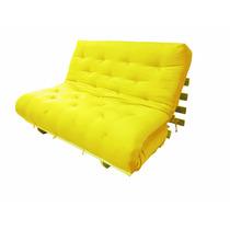 Sofa Cama Casal Futon Sem Base De Madeira Preço Promocional