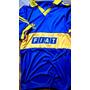 Camiseta Retro Boca Juniors Fiat Titular