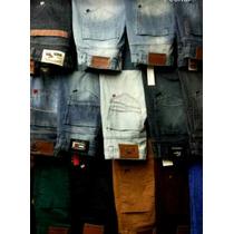 Calça Jeans Kit C/12 Peças Lacoste Abercrombie Hollister