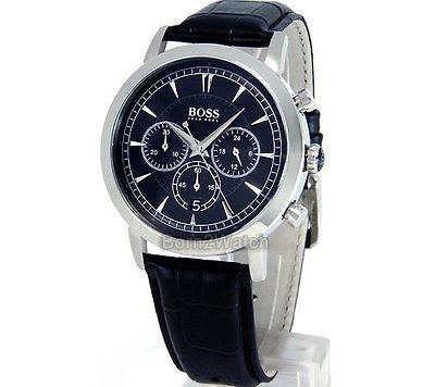 d1d6188773ef Reloj Hugo Boss Hombre Cronógrafo Acero Sólido 44mm Correa -   1.097.083 en  Mercado Libre