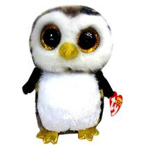 Beanie Boos Bichos De Pelúcia Coruja Owliver Pássaro Coleção
