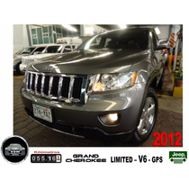 2012 Grand Cherokee Limited V6 Navi, Un Dueño, Fact. Orig...