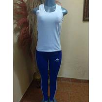 Conjuntos Deportivos Largos Tubito Damas Adidas