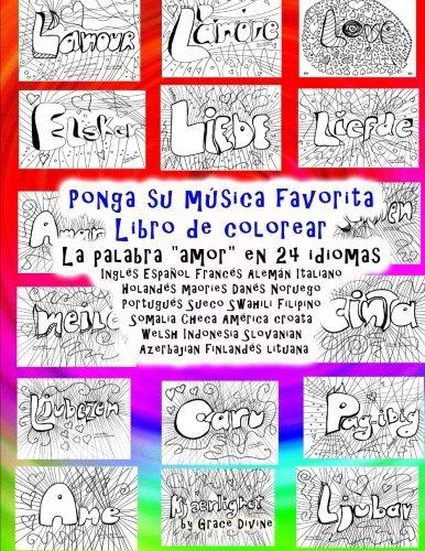 Libro : Ponga Su Música Favorita Libro De Colorear La... - $ 679,00 ...