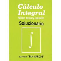 Libro: Cálculo Integral - Granville (solucionario) - Pdf