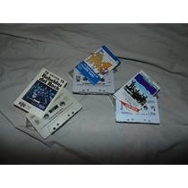 3 Cassettes - Los Rebeldes Del Rock, Los Yaki, Los Teen Tops
