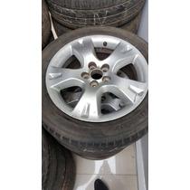 Jogo De Roda+pneu Tucson Aro 16 Aceito Trocas