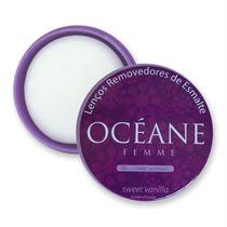 Océane Femme Os Removedores De Esmalte - Sweet Vanilla C/25