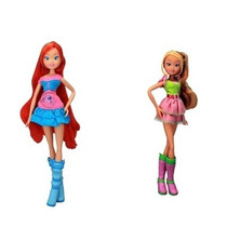 Boneca Club Da Winx Friends Forever - Bloom + Flora Cotiplas