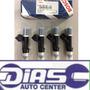 Kit 4 Bico Injetor Bosch Original Ford Fusion 2.5 Duratec
