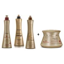 Escova Progressiva Royal Liss Premium Mutari - 4 Itens