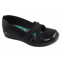 Zapatos Colegiales Escolares De Niña 27 Al 34 Bellos!