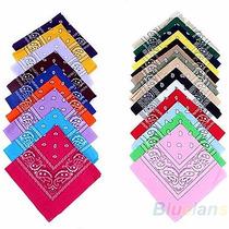 Pañuelos Bandanas 100% Algodon! De Primera Calidad, Pack X30