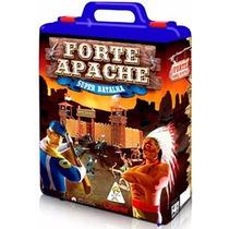 Lacrado 34 Peças Forte Apache Gulliver Maleta Batalha Super