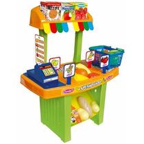 Supermercado Juguete Minimercado Nena Nene Con Accesorios !!