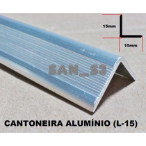 Ferragens P/ Case Cantoneira Alumínio C/ Abas 15mm