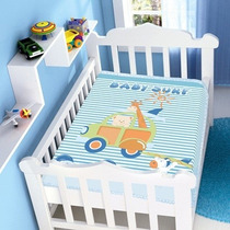 Cobertor Jolitex Infantil Berço Bebê Raschel Baby Surf