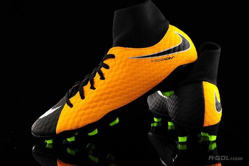 Botines Nike Hypervenom Phelon Iii Df Fg Black  Botita -   2.699 9473152d2ca93