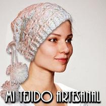 Boinas Y Gorros Tejidos Al Crochet
