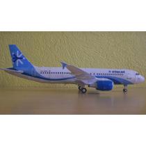 Avion Airbus A320 Interjet (para Armar En Papel)