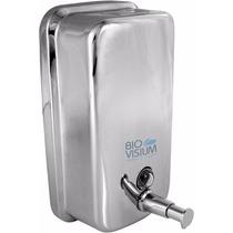 Dispenser Inox Liquido E Alcool Gel C/ Chave 1300 Ml Maos