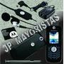 Motorola L6 Negro Libre Todo Operador Carcasa Nueva
