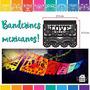Banderines De Tela! Banderines Mexicanos Multicolores!