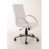 Cadeira Presidente Giratória Alumínio Personalizada
