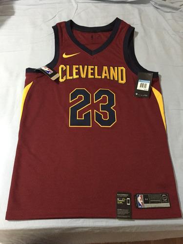 07be587d9 Camiseta Importada Nike Cleveland Cavaliers Lebron James - R  350