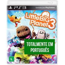 Little Big Planet 3 - Ps3 Mídia Física Lacrado Português Br