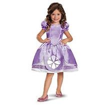 Disfraz De Chica Disney La Primera Sofia Vestuario Clásico 3