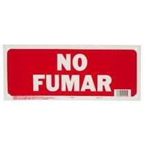 Letrero 15x35cm No Fumar Hy-ko