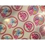 Plancha Stickers Personalizados Para Golosinas Candy Bar
