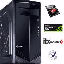 Pc Gamer Amd Fx-6300 3.5ghz Geforce Gtx750ti 2gb 8gb Gamer