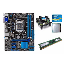Kit Placa Mãe Asus Hdmi + Core I5 3470 3.6 Ghz + 4gb Ddr3