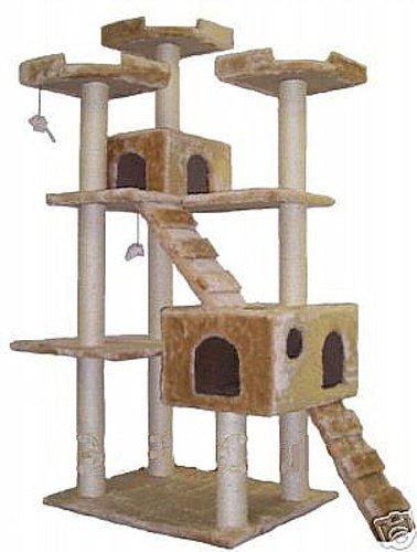Arbol trepador rascador para gatos trepar casa oferta - Casas para gatos de madera ...