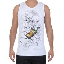 Camiseta Masculina Hurley Regata Básica Caio Munhoz