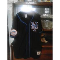 Franela Mlb Mets New York, Talla: L Majestic Original